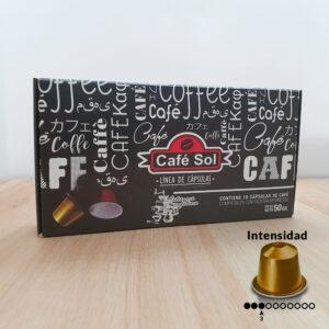 capsulas cafe premium intensidad media baja